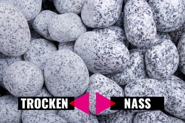 Gletscherkies Granit, 25-50 mm - Muster ca. 1 kg (inkl. *10 € Gutschein)