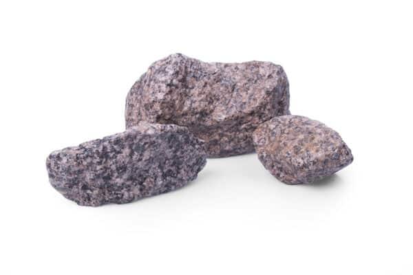 Granit Rot Gabionensteine, 45-125 mm - Muster ca. 1 kg (inkl. *10 € Gutschein)