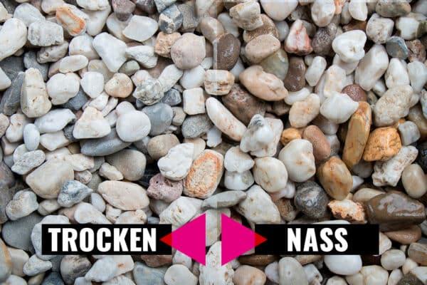 Kieselsteine, 8-16 mm - Muster ca. 1 kg (inkl. *10 € Gutschein)