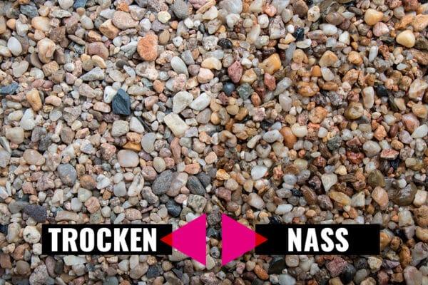 Kieselsteine, 2-8 mm - Muster ca. 1 kg (inkl. *10 € Gutschein)