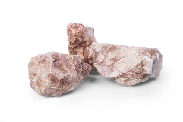 Marmor Orange Gabionensteine, 60-120 mm - Muster ca. 1 kg (inkl. *10 € Gutschein)