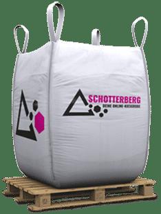 Ein mit Kies gefüllter Big Bag von Schotterberg